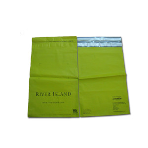 Colored plastic poly courier mailing bags