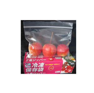 Plastic Zip Lock Bag for fruit packing