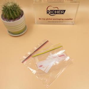 Printing plastic zip lock bag for fruits packing