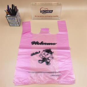 Plastic vest bag/T-shirt plastic bag/shopping bag