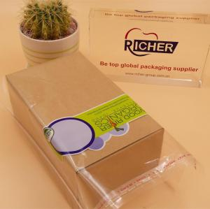 custom printing plastic self adhesive bag with seal type