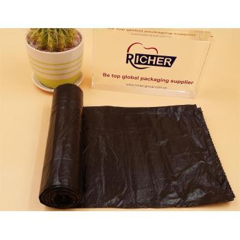 High Quality Plastic Garbage Bag Trash Bag with Drawstring