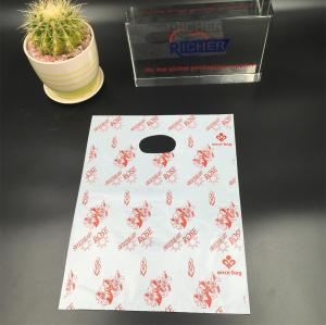 Plastic Die Cut Handle Shopping Bag with Big Size