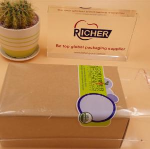 Colored plastic Self Adhesive Seal OPP Plastic Bag with Header