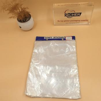 Customized Clear Newspaper Plastic Bags for delivery