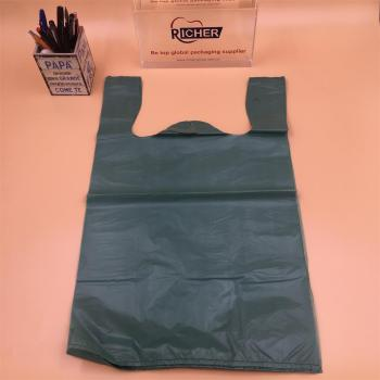 Degradable HDPE shopping Plastic Bag T-Shirt Bag