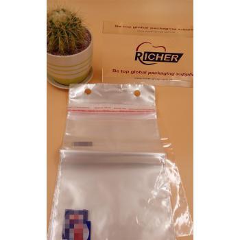 Tipo de sellado del bolso adhesivo que se puede volver a sellar para el bolso de OPP