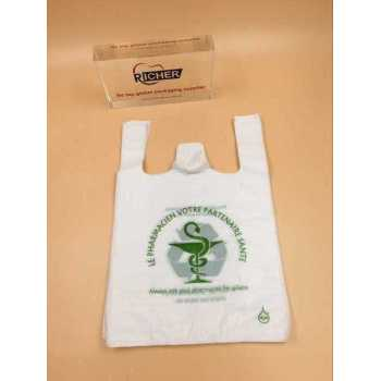 Plastic Retail Grocery Shopping T-Shirt Handle Bag