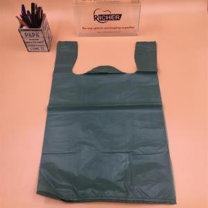 Poly T-Shirt Vest Printed Shopping Bag