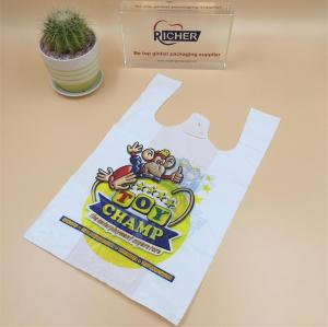Customised Poly T-Shirts Plastic Bag for Wholesale