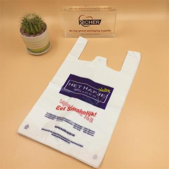 Plastic T Shirt Packaging Bag with Your Own Logo Printing
