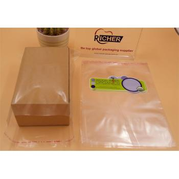 Self Adhesive Seal Clear Plastic Bag for Gift Packing