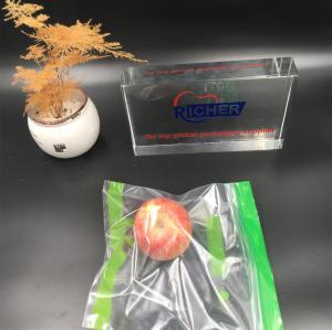 Reclosable Bag / transparent PE Zip Lock Bag