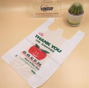 Custom Branded T-Shirt Vest printing Plastic Bag