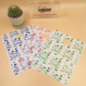 Wholesale Degradable Die Cut Shopping Plastic Packing Bag