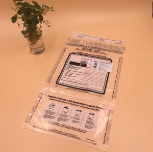 Plastic Envelope Tamper  Plastic Bag Courier Customs Evidence Security Proof Bag
