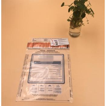 Custom Tamper Evident Bag Heat Seal security bag express Bags