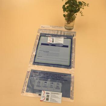Heat Seal/secure Courier Security Money Evidence Bags