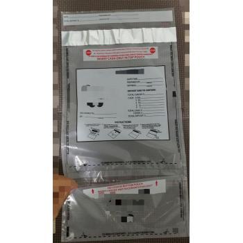 Security Tamper Evident Bag Co-extruded Mailer Security bag