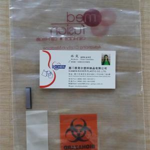 LDPE Zip Lock Bags with pocket