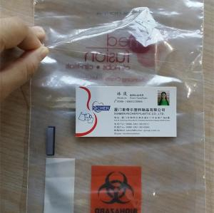 Heat sealed Zip Lock Bags with own logo design