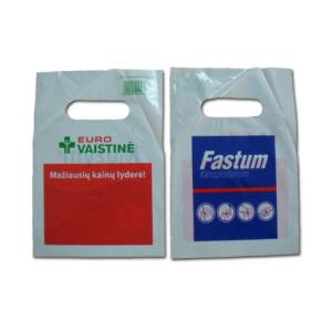 Plastic D-cut bag