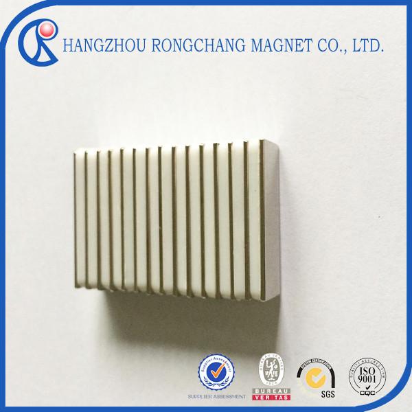 Neodymium block magnets with N35 N38 N40 N42 N45 N48(M H) for motor