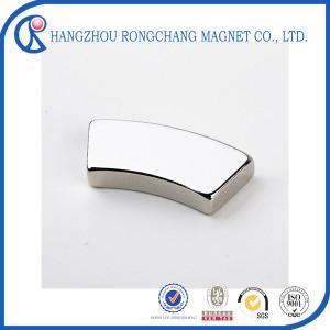 Customized arc Neodymium Magnet segment permanent magnet generator
