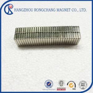 Factory supply quality Assurance cube n35 neodymium magnet