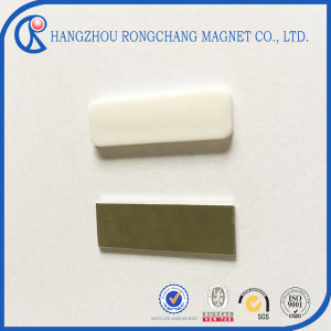 Customzied double sided magnetic sheet with with Nickel coating
