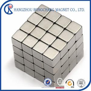 4mm Neodymium Magnet Cube DIY Puzzle Set - Silver (216PCS)