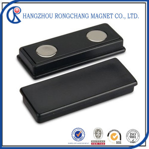 Rectangle Neodymium Magnet with Plastic