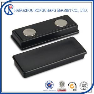 Rectangle Neodymium Magnet with Plastic