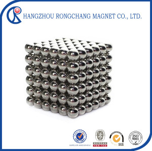 N42 neodymium magnet / rare earth magnet ball for motors with NICuNi coating