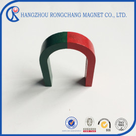 Horseshoe AlNiCo magnets for education