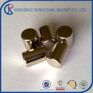 Super strong cylinder ndfeb neodymium magnet n52