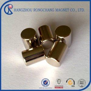 Super strong cylinder ndfeb neodymium magnet n52