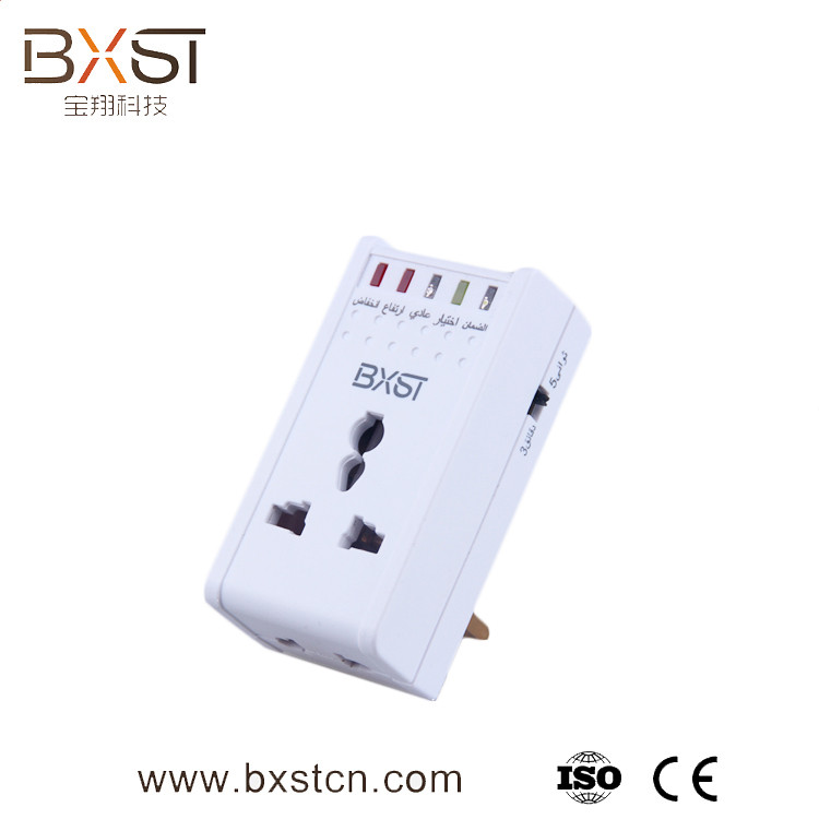 2017 new style ac power socket with surge protector , Surge protector , Under voltage protector