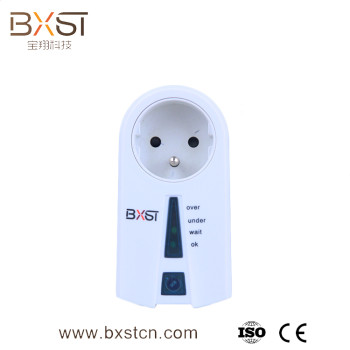 Professional under and over voltage protector French plug