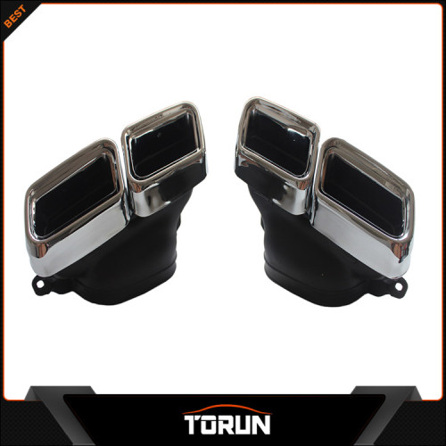 2016 hot sale for Mercedes Benz amg S Class W222 S65 304 stainless steel exhaust tip