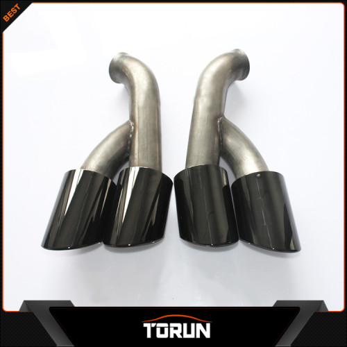 Jinggui factory Torun high quality 14 15 cayenne exhaust muffler pipe