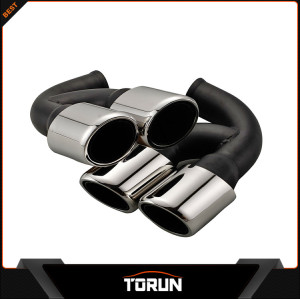 Turbos car-styling stainless steel exhaust pipe tips for porsche Cayenne Sport 2010 China