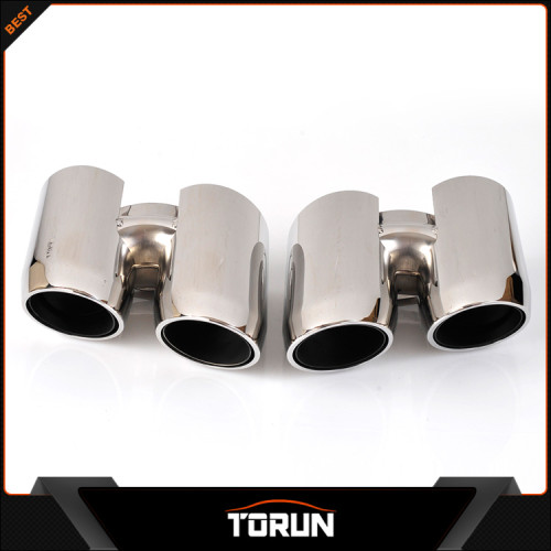 Welding 2014 porsche panamera exhaust pipe muffler tip  suppliers manufacturer