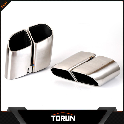 2017 hot sale for 2014 Porsche Panamera 304 stainless steel square exhaust tip