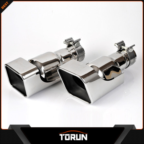 2017 High quality 12-13 gasoline 304 stainless steel exhaust tip
