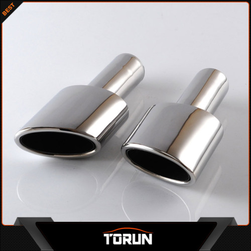 2016 hot sale for Mercedes Benz amg C Class W204 304 stainless steel exhaust tip