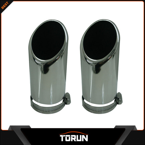 2016 hot sale for Mercedes Benz C180 W204 304 stainless steel exhaust tip