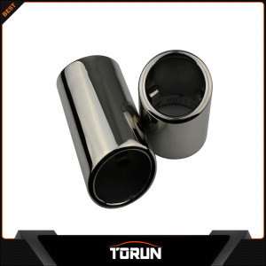 2016 hot sale factory for BMW 10-13 X1 2.5 E84 304 stainless steel exhaust tip
