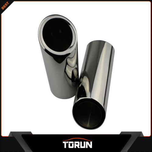 2017 mirror polish factory for 05-12 Range Rover gasoline 304 stainless steel exhaust tip