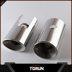2017 mirror polish factory for Land Rover 07-13 Freelander2 304 stainless steel exhaust tip
